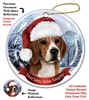 Beagle Holiday Ornament - Made in the USA