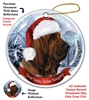 Bloodhound Holiday Ornament - Made in the USA