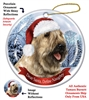 Bouvier (Fawn) Holiday Ornament - Made in the USA