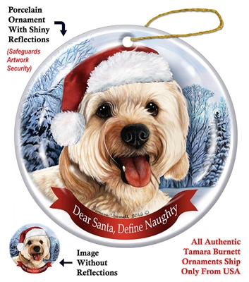 Cavapoo Holiday Ornament - Made in the USA