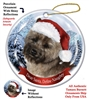 Cairn Terrier (Brindle) Holiday Ornament - Made in the USA