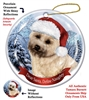 Cairn Terrier (Wheaten) Holiday Ornament - Made in the USA