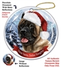 Cane Corso (Fawn) Holiday Ornament - Made in the USA