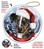 Catahoula Leopard Dog Holiday Ornament - Made in the USA