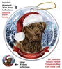Chesapeake Bay (Brown) Holiday Ornament - Made in the USA