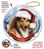 Collie (Sable & White) Holiday Ornament - Made in the USA