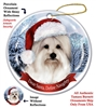Coton de Tulear Holiday Ornament - Made in the USA