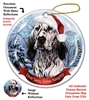 English Setter (Blue) Holiday Ornament - Made in the USA