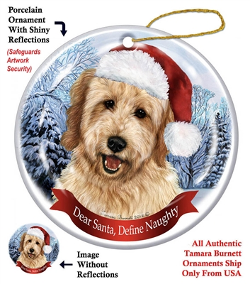 Goldendoodle Ornament - Made in the USA