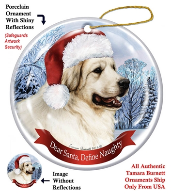 Great Pyrenese Ornament - Made in the USA