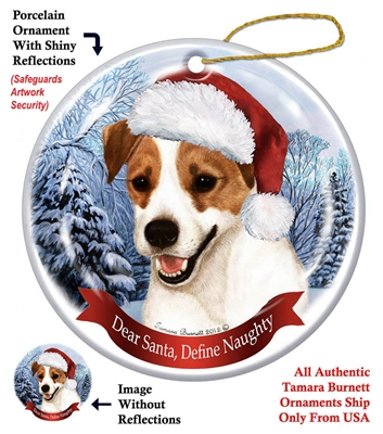 Jack Russell Ornament - Made in the USA