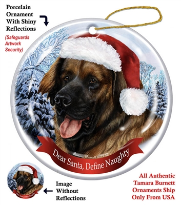 Leonberger Ornament - Made in the USA