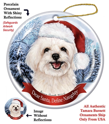 Maltipoo Ornament - Made in the USA