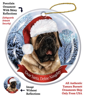 Mastiff Ornament - Made in the USA