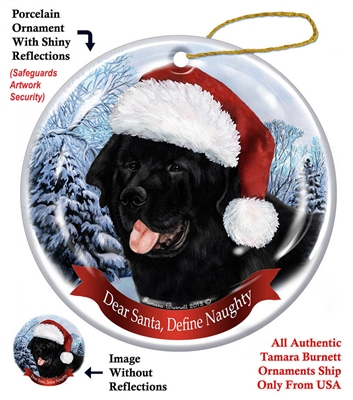 Newfoundland Holiday Ornament - Made in the USA