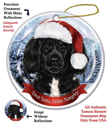 Portuguese Water Dog Holiday Ornament - Made in the USA