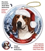 Coonhound (Treeing Walker) Holiday Ornament - Made in the USA