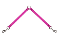 "Lupine Hot Pink 9"" Coupler for Small Dogs"