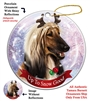 Afghan - Up to Snow Good Holiday Ornament - Made in the USA