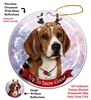 Beagle - Up to Snow Good Holiday Ornament - Made in the USA