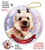 Cavapoo - Up to Snow Good Holiday Ornament - Made in the USA