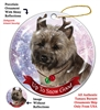 Cairn Terrier Brindle- Up to Snow Good Holiday Ornament - Made in the USA