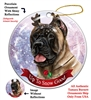 Cane Corso Fawn - Up to Snow Good Holiday Ornament - Made in the USA