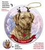 Chesapeake Bay Retriever - Dead Grass - Up to Snow Good Holiday Ornament - Made in the USA