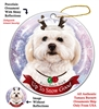Shipoo - Up to Snow Good Holiday Ornament - Made in the USA