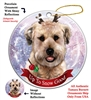 Wheaten Terrier - Up to Snow Good Holiday Ornament - Made in the USA