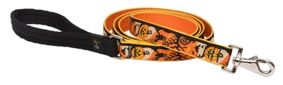 Holiday Lupine Spooky 6' Padded Handle Leash - Large Dog