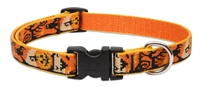"Retired Lupine 3/4"" Spooky 9-14"" Adjustable Collar - Medium Dog"