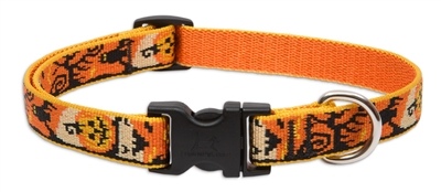 "Retired Lupine 3/4"" Spooky 9-14"" Adjustable Collar"