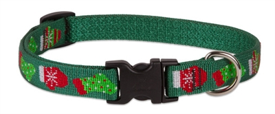 "LupinePet 1/2"" Stocking Stuffer 10-16"" Adjustable Collar - Small Dog"