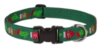 "LupinePet 1"" Stocking Stuffer 12-20"" Adjustable Collar - Large Dog"