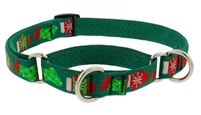 "Lupine 3/4"" Stocking Stuffer 14-20"" Martingale Training Collar"