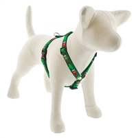 "Lupine 3/4"" Stocking Stuffer 20-32"" Roman Harness - Medium Dog"