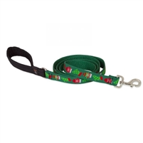 "LupinePet 1"" Stocking Stuffer 4' Padded Handle Leash - Large Dog"