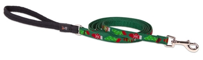 "Lupine 1/2"" Stocking Stuffer 6' Padded Handle Leash - Small Dog"
