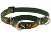 "Lupine 3/4"" Santa's Treats 10-14"" Martingale Training Collar - Medium Dog"