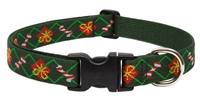 "Lupine 1"" Santa's Treats 12-20"" Adjustable Collar - Large Dog"