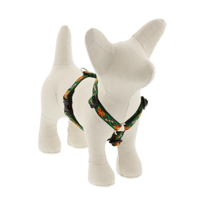 "Lupine 1/2"" Santa's Treats 12-20"" Roman Harness - Small Dog"