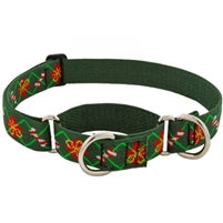 "Lupine 1"" Santa's Treats 15-22 Martingale Training Collar - Large Dog"