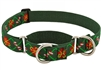 "LupinePet 1"" Santa's Treats 19-27 Martingale Training Collar - Large Dog"