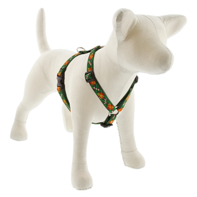 "Lupine 3/4"" Santa's Treats 20-32"" Roman Harness"