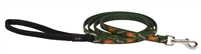 "LupinePet 1/2"" Santa's Treats 4' Padded Handle Leash - Small Dog"