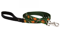 "Lupine 3/4"" Santa's Treats 4' Padded Handle Leash"