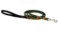 "Lupine 1/2"" Santa's Treats 6' Padded Handle Leash - Small Dog"