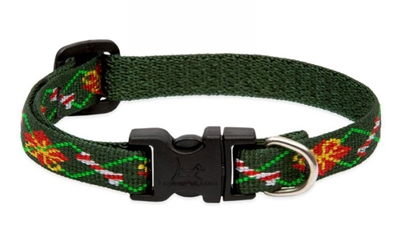 "Lupine 1/2"" Santa's Treats 8-12"" Adjustable Collar - Small Dog"