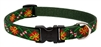 "Lupine 3/4"" Santa's Treats 9-14"" Adjustable Collar - Medium Dog"